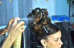 Formal Hairstyles, Up Hairstyles, Hairdos, Pentecostal Hairstyles, Retro Updo, Teased Hair, Hair Brained, Hairspray, Beauty Shop