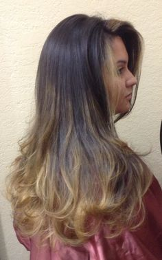 Ombré! Yes!