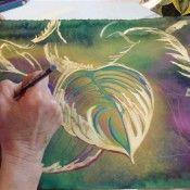 Prismacolor blog...lots of techniques  http://blog.prismacolor.com/category/tips-and-techniques/page/2/