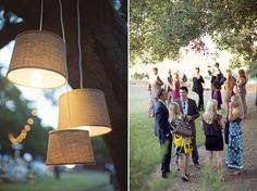 "Love the hanging ""lamp"" outdoor lights. How do I do this?"