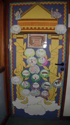 Plus de 1000 id es propos de porte de classe sur for Decoration porte noel classe