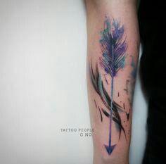 Ankle tattoo with faith