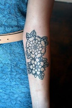 Tattoo. / #floral #tattoo on imgfave
