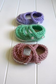 Mary Jane Booties Crochet Patter.4 sizes012 por smeckybits en Etsy