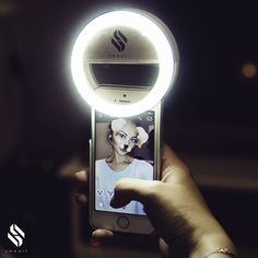 Smaart Selfie Ring Light For All Mobile Phones 2017 Version 36 Led Lamps For A Round Pool Of Light Effect In The Pupils White Ring Light With Stand, Led Selfie Ring Light, Round Pool, All Mobile Phones, Cell Phone Holder, Phone Cases, Best Phone, Light Effect, Light Fittings