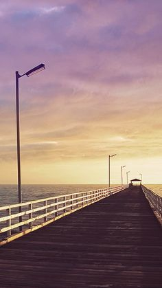 Boardwalk Ocean Iphone 6 Wallpaper Free 750x1334