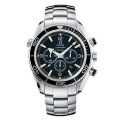 Omega Mens 22105000 Seamaster Planet Ocean Automatic Chronometer Chronograph Watches