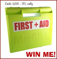 Welcome to the Macgill First Aid Kit Giveaway Hosted by Tom's Take On Things Having an effective First Aid Kit should be something everyone, and every family should take seriously. Yes, there are times when you are just going to have to call 911, go to an...