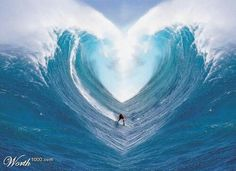 heart shaped wave