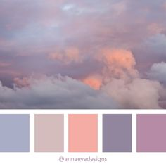 sky color palette sunset color palette pastel color palette clouds sky color inspiration brand color inspiration brand design lilac - All About Sunset Color Palette, Bedroom Colour Palette, Pastel Colour Palette, Colour Pallette, Sunset Colors, Bedroom Color Schemes, Pastel Colors, Lilac Color, Pastel Purple