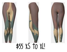 """""""Camo Leggings Compression Fit"""" by skyecreativedesign on Polyvore"""