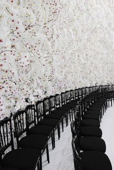 The backdrop of Dior Haute Couture, Autumn / Winter 2014 show.