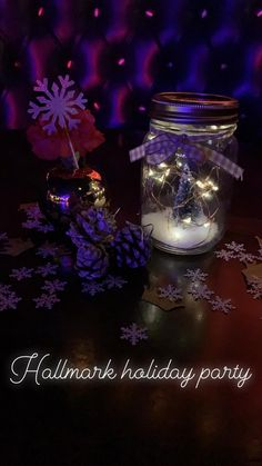 Hallmark Holidays, Holiday Parties, Snow Globes, Events, Party, Decor, Decoration, Receptions, Decorating