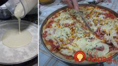 Blesková pizza z panvice pobláznila celú našu rodinu: Zabudnite na donášku a kysnuté cesto, toto je hotové za 12 minút!
