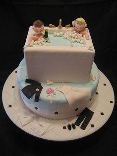 Bath Tub Wedding Cake | Flickr - Photo Sharing!