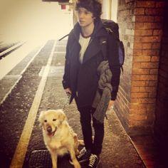 Brad's dog Jesse ▪ Brad   The Vamps   #thevampsband   instagram.com/bradleywillsimpson
