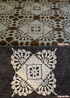 Скатерть крючком - Вязание - Страна Мам