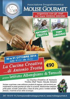 "Molise Gourmet presenta ""La Cucina Creativa... di Antonio Trotta"" -> http://www.mangiareinmolise.it/site/molise-gourmet-presenta-la-cucina-creativa-di-antonio-trotta/ #Termoli #Molise"