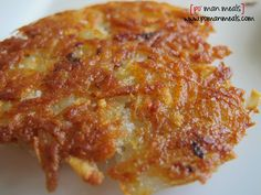 "Crunchy Potato Cakes {po' man meals}   ""no need for ihop hash browns.  this crunchy goodness you can make at home!"""