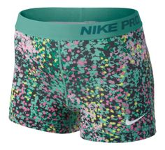 Womens Nike Pro 3\u0026quot; Printed Fitted Shorts at Road Runner Sports