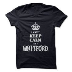 I'm a WHITFORD T-Shirts, Hoodies. BUY IT NOW ==►…