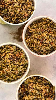 4 Healthy Pumpkin Seed Recipes - #pumpkinseedsrecipe - Enjoy the Fall with these 4 easy and healthy ways to season pumpkin seeds.... Seasoned Pumpkin Seeds, Savory Pumpkin Seeds, Homemade Pumpkin Seeds, Pumpkin Seeds Benefits, Roasted Pumpkin Seeds, Roast Pumpkin, Healthy Pumpkin, Roasted Squash Seeds, Pumkin Seeds