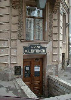 Casa di Fëdor Dostoevskij, a San Pietroburgo