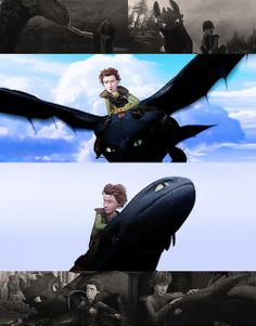 Adventure HICCUP & TOOTHLESS <3