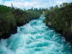 Huka Falls, New Zealand.