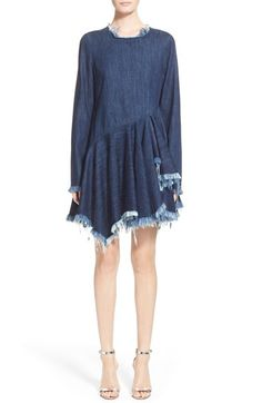 Women's Marques'Almeida Long Sleeve Denim Dress (Nordstrom Exclusive)