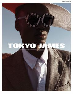 """The UK/ Nigerian based eponymous fashion brand Tokyo James presents their SS18 Campaign shot in the beautiful mountains of Cape Town South Africa themed 'THE AFRICAN COWBOY' In the Press brief released by the brand, they interpret the inspiration behind the collection as follows """"Life is str"""