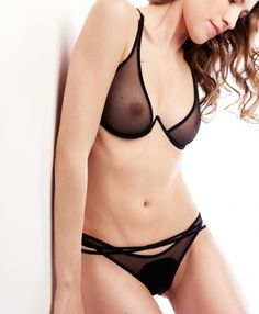 One (Noir, Bra) | La Fille d'O lingerie