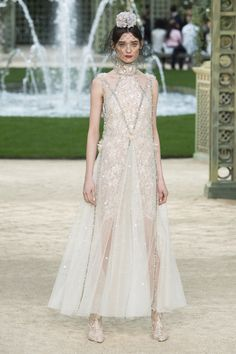 Chanel Spring 2018 Couture Fashion Show Collection