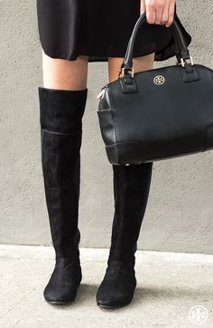 The thigh's the limit: over-the-knee boots, coming soon | Tory Burch Pre-Fall 2014 $79.99