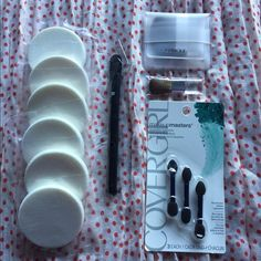 NWT Makeup Accessories Lot  Brand new beauty accessories! • 6 Lancome sponges • 1 Lancome make up brush • 1 Clinique blush brush • 1 Clinique small brush • Package of 3 Covergirl eyeshadow applicators --- • All items come from a smoke/pet free home • No holds | No trades | No PP • Consider bundling to save on shipping costs • Price is firm | $10 on Ⓜ️ --- Happy Poshing! Makeup Brushes & Tools