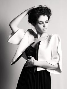 "Neri Oxman: Interview Magazine article by JOHN ORTVED, ""Raised in Haifa and Caesarea, Israel, by architect parents, Oxman rebelled (well, by academic standards anyway) by going into medicine, completing med school at the Hebrew University of Jerusalem. But she couldn't squelch her interest in design, and so she ventured to London to get a degree from the Architectural Association School of Architecture before enrolling in the PhD program in design computation at MIT..."" (Photography TOM…"
