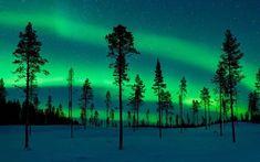 Aurora Borealis in Kiruna, Sweden