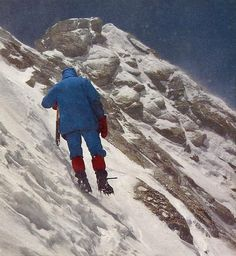 On May 15, 1985 Messner and Hans Kammerlander completed the Northeast Ridge of Dhaulagiri.