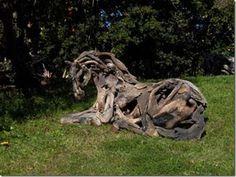 Driftwood-Horse great art