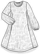 """Tunika """"Campo"""" lyocellia/elastaania – Sademetsän talvi – GUDRUN SJÖDÉN - vaatteita verkossa ja postimyynnissä"""