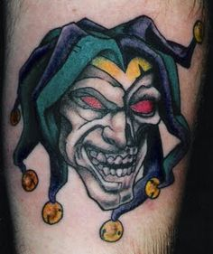 Counter Tattoo: Clown Tattoos