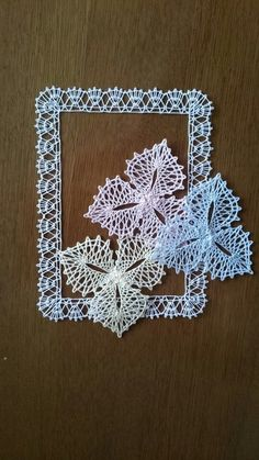 Bobbin Lacemaking, Bobbin Lace Patterns, Tatting, Birthday Cards, Crochet Earrings, Projects To Try, Album, Inspiration, Bobbin Lace