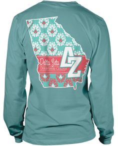 Delta Zeta State shirt. Love! This would be really cute if it was in my state :)