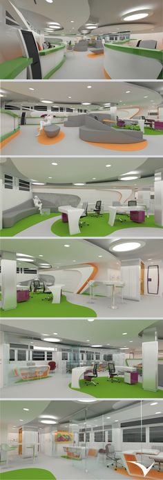 Centro de innovación financiero del fondo de empleados de la Universidad Industrial de Santander (FAVUIS).Diseñado por: Vircorp en conjunto con la firma de arquitectura española BUCBA