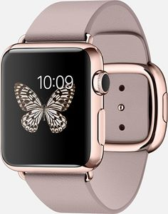 Apple Watch in Pink and Rose Gold #AppleWatch #Pink #RoseGold alles für Ihren Stil - www.thegentlemanclub.de