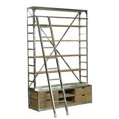 CDI Furniture - Biblioteca Industrial Gs.9,900,000