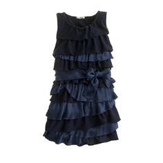 J.Crew Party Dress for girls perfect for Holiday parties!