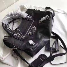 Balenciaga Clasic Silver Metallic Edge Goatskin City Bag 28cm Black Designer Purses, Balenciaga City Bag, Bag Sale, Metallic, Shoulder Bag, Classic, Silver, Bags, Derby
