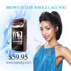 BROWN SUGAR WHOLE LACE FRONT WIG 401  the #Best #Natural Taste in Human Hair Style Mix Wigs $59.95 @ http://www.luxwig.com/brown-sugar-whole-lace-front-wig-401-wg-bs401.html #luxwig #wig #wigs #fashion #synthetic #hair #hairstyle #black #africanhairstyles #women #girl #beauty #style #mix #lace #brown