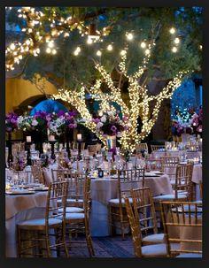 Enchanted theme #wedding #woods